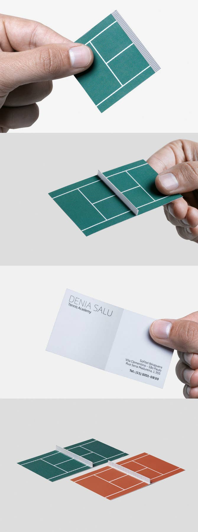25 genius business cards 20 tiny tennis court reheart Gallery