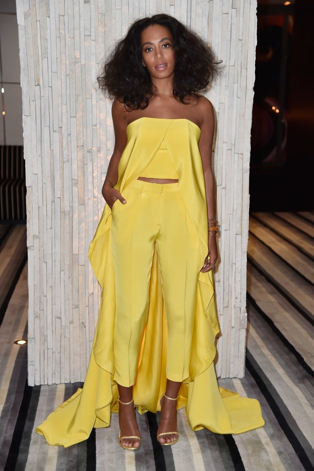 Solange Knowles is a pretty fantastic individual. Her style is unmatched.