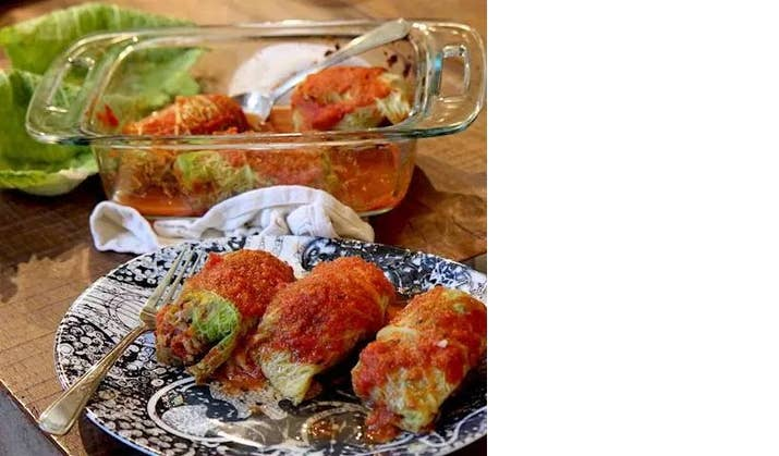 Not your Baba's cabbage rolls- low carb, paleo and keto: Recipe Here
