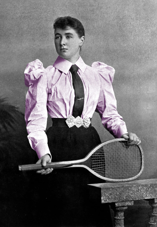 In the absence of sports bras, women playing tennis at Wimbledon in 1887 competed in whalebone and metal corsets, which were so stabby that they often ended up covered in blood by the end of a match.