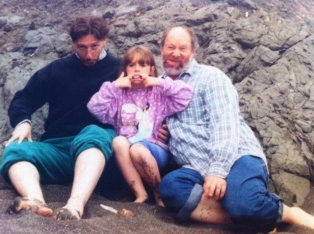 """""""Growing up, we celebrated the anniversary of my adoption every year with a picnic on the beach. While our beach picnics have ceased over time, the silly face making hasn't."""""""