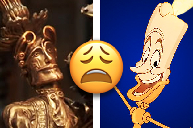 I Am Not Happy About Lumiere In The New Beauty And The Beast