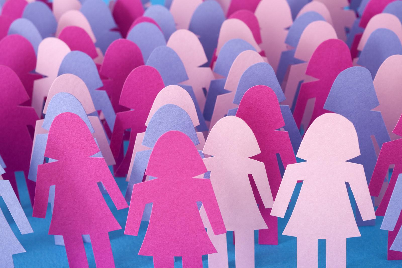 Mujeres solteras en utrillas