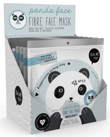 It actually makes your face into a panda! An IRL snapchat filter. Price: $7