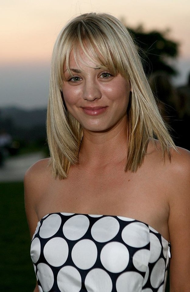 Kaley Cuoco in 2007: