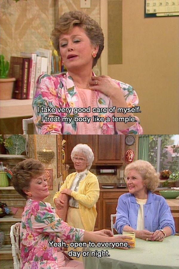 "22 One Liners From ""The Golden Girls"" That'll Make You Laugh Every"
