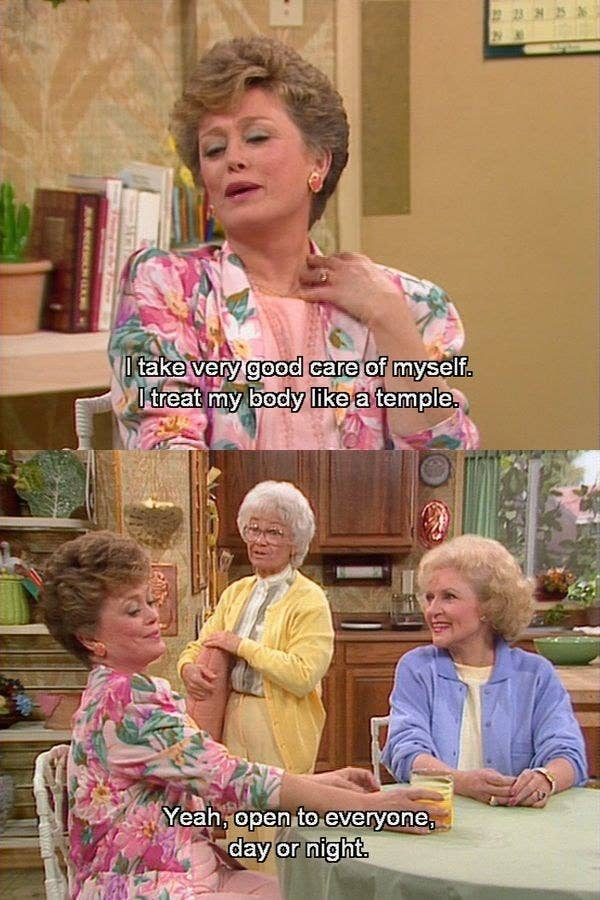 """22 One Liners From """"The Golden Girls"""" That'll Make You Laugh Every"""