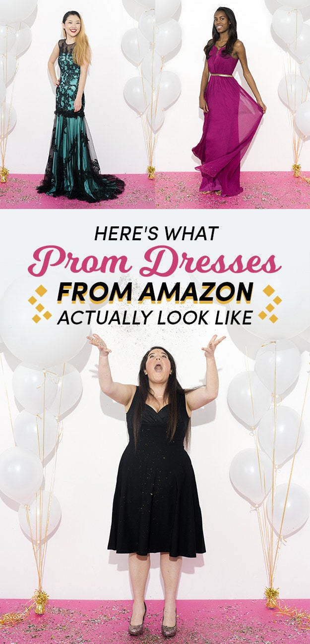 Heres What Prom Dresses From Amazon Actually Look Like