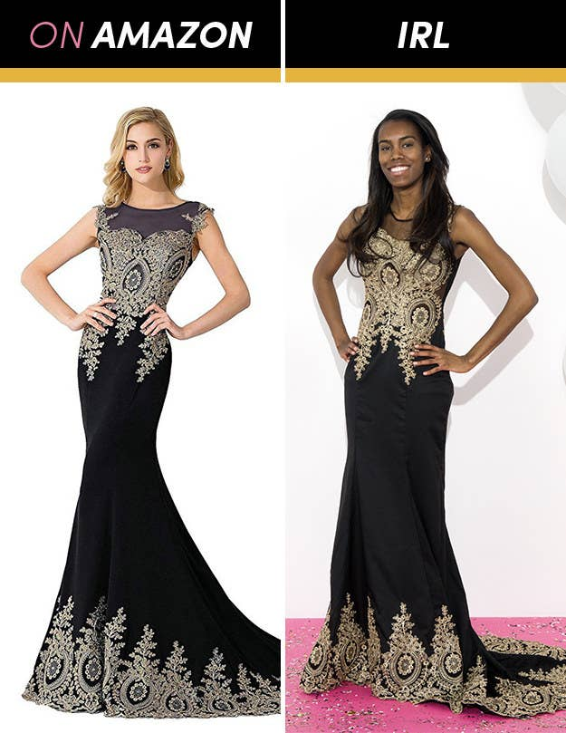 Here\'s What Prom Dresses From Amazon Actually Look Like
