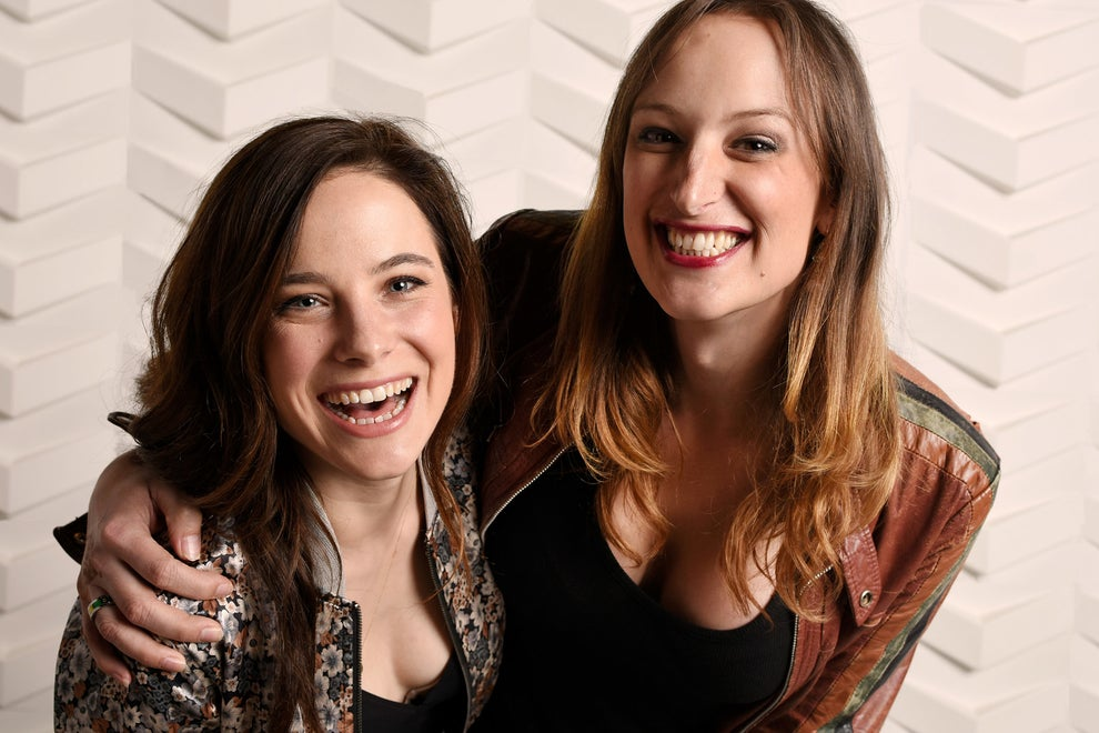 Easy Living stars Caroline Dhavernas and Jen Richards
