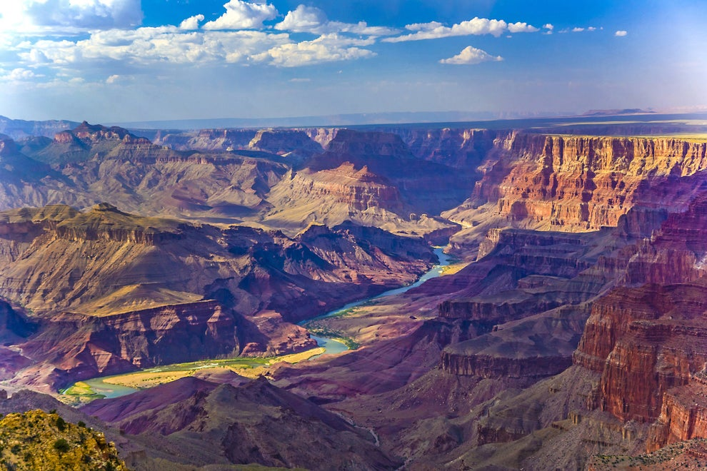 It could be something we all know and love, like the Grand Canyon.