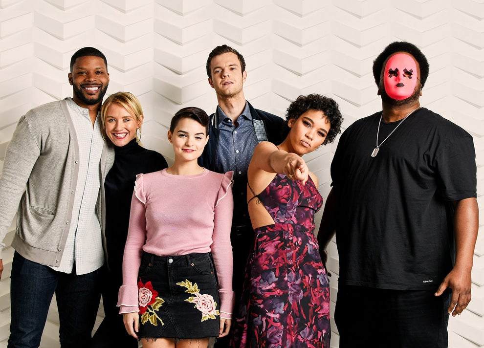 Tragedy Girls stars Kerry Rhodes, Nicky Whelan, Brianna Hildebrand, Jack Quaid, Alexandra Shipp, and Craig Robinson