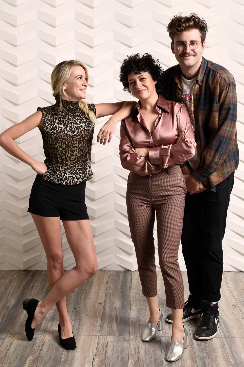 Search Party stars Meredith Hagner, Alia Shawkat, and John Reynolds