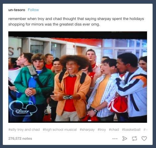 51 Hilarious High School Musical Tumblr Posts And Tweets