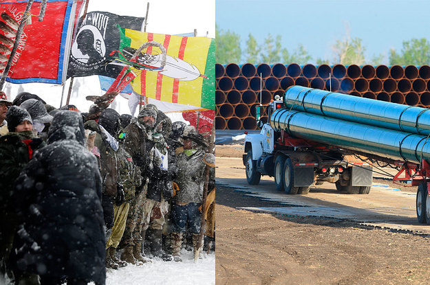 Oil Is Now Filling The Contested Section Of The Dakota Access Pipeline