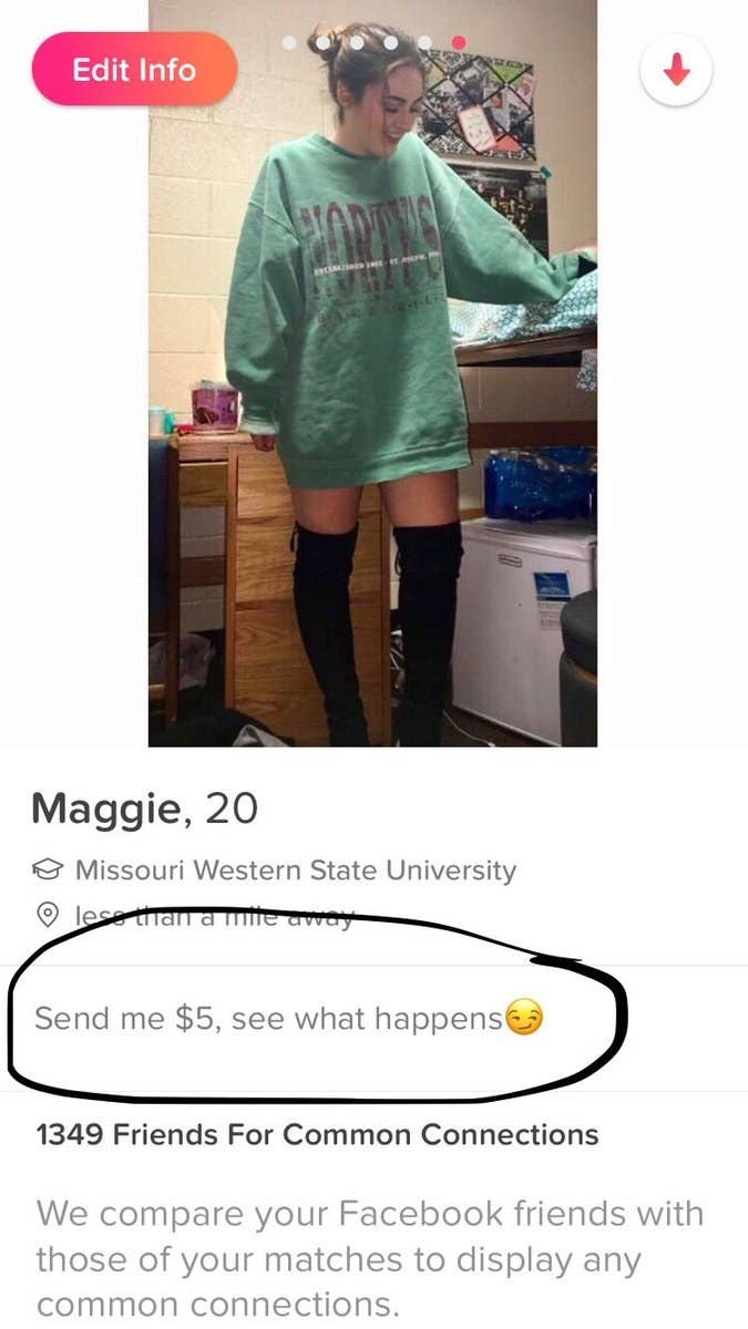 2017 tinder spam This Guy