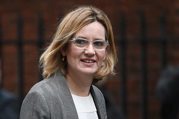 Amber Rudd Appears To Be Using WhatsApp