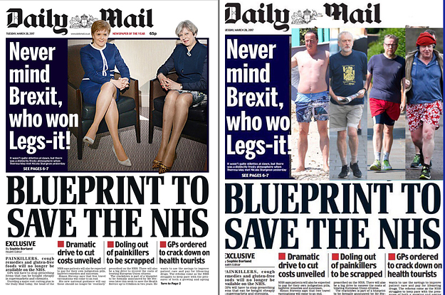 The daily mail has told critics of its sexist legsit front page the daily mail has told critics of its sexist legsit front page to get a life malvernweather Images