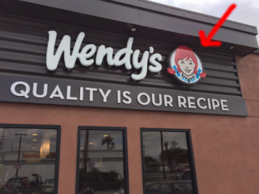 The Wendy of the Wendy's fast food chain.