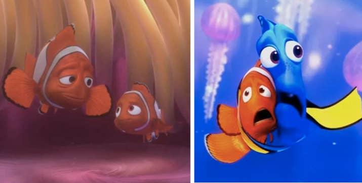 'Nemo' signifca 'nadie' en Latín, y cada aparición de él en la película representa una etapa de duelo, en este orden: negación, ira, negociación, desesperación y aceptación. —luisf4