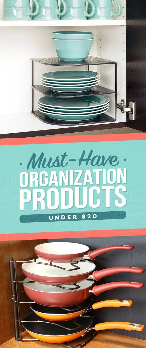 33 Products Under $20 That\'ll Actually Organize Your Living Space