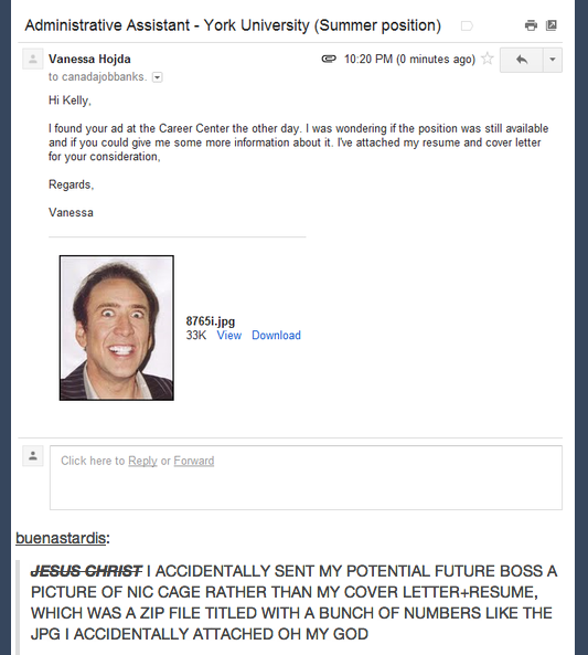 Literally Just 29 Incredible Tumblr Posts About Nicolas Cage
