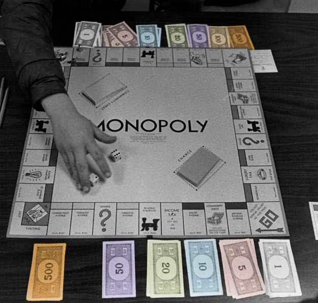 The British royal family isn't allowed to play Monopoly.
