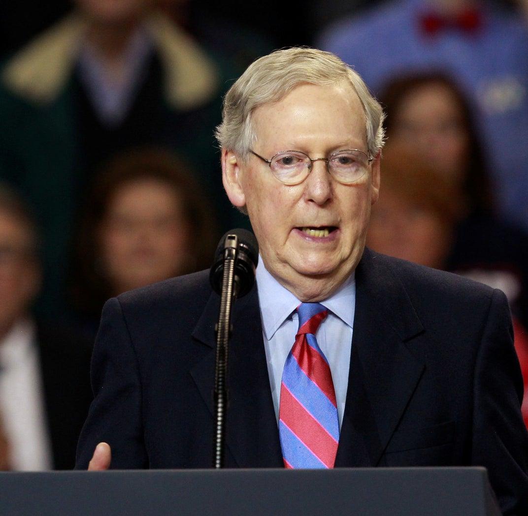 Senate Majority Leader Mitch McConnelI