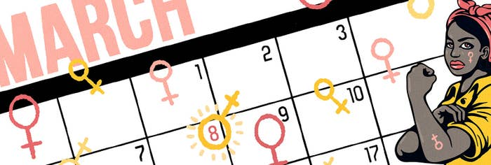 Here's A Free Calendar To Celebrate Badass Women All Year Round