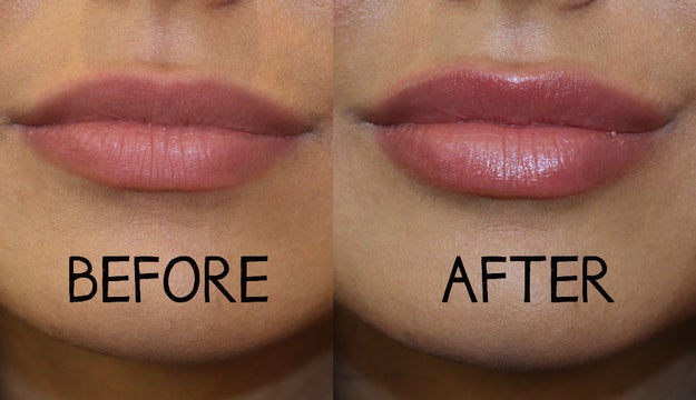Want fuller lips immediately and without *injections*? Look in your pantry.