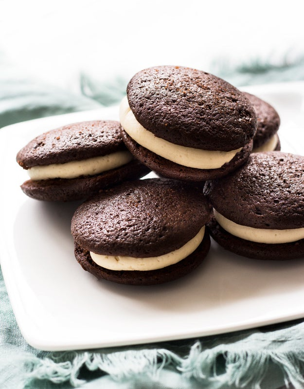And Bailey's Chocolate Whoopie Pies