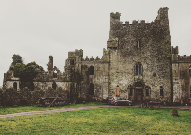 "Welcome to Ireland's Leap Castle, home to a mysterious spirit called ""The Elemental."""