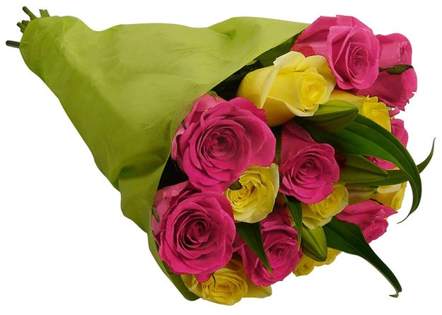 A beautiful bouquet of fresh flowers delivered to you or anyone across the country.