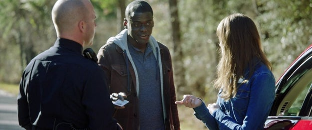 Rose isn't actually sticking up for Chris when she argues with the cop about showing ID. She's avoiding a paper trail.