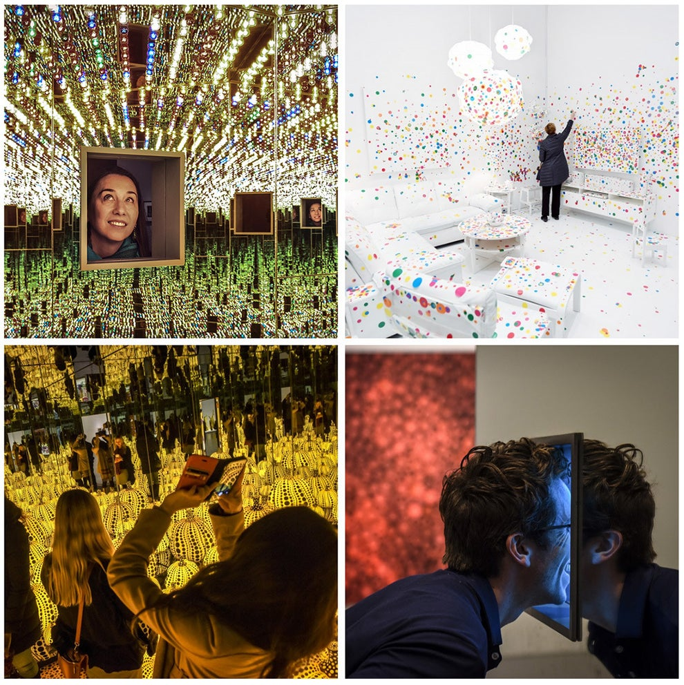 """Inside the Much-Hyped Yayoi Kusama Exhibition at the Hirshhorn"" — Washington Post"