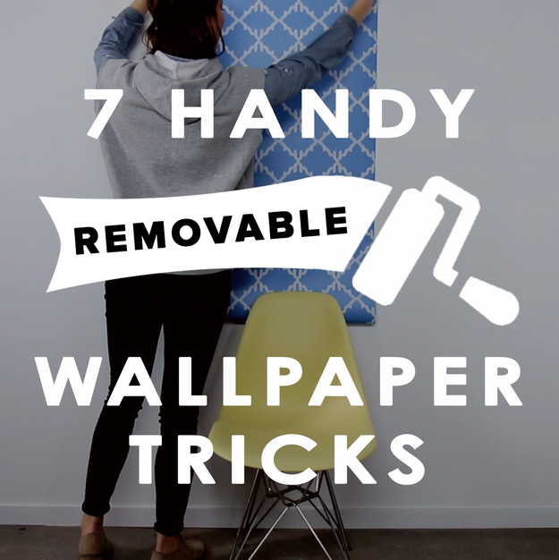 So, you're bored with your plain walls and want to try something new—YAY, you! Here's what to do...