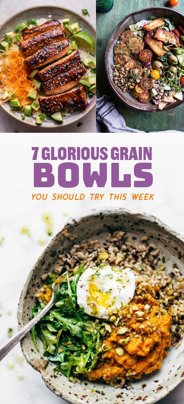 7 Awesome Buddha Bowls You Should Try This Week