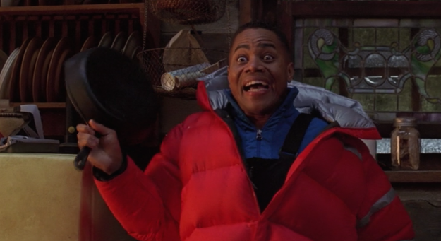 But ah, memory is short: The woefully overlooked 2002 Cuba Gooding Jr. film Snow Dogs is a live-action Disney movie that features an interracial kiss.