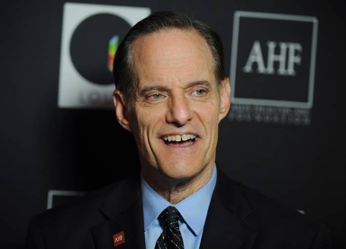 AIDS Healthcare Foundation President Michael Weinstein on Sep. 17, 2015, in Los Angeles.