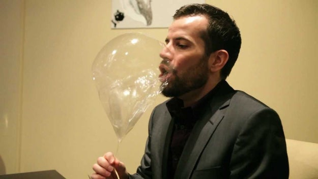 Like, there's a chef in Chicago that makes a helium balloon. Out of sugar.