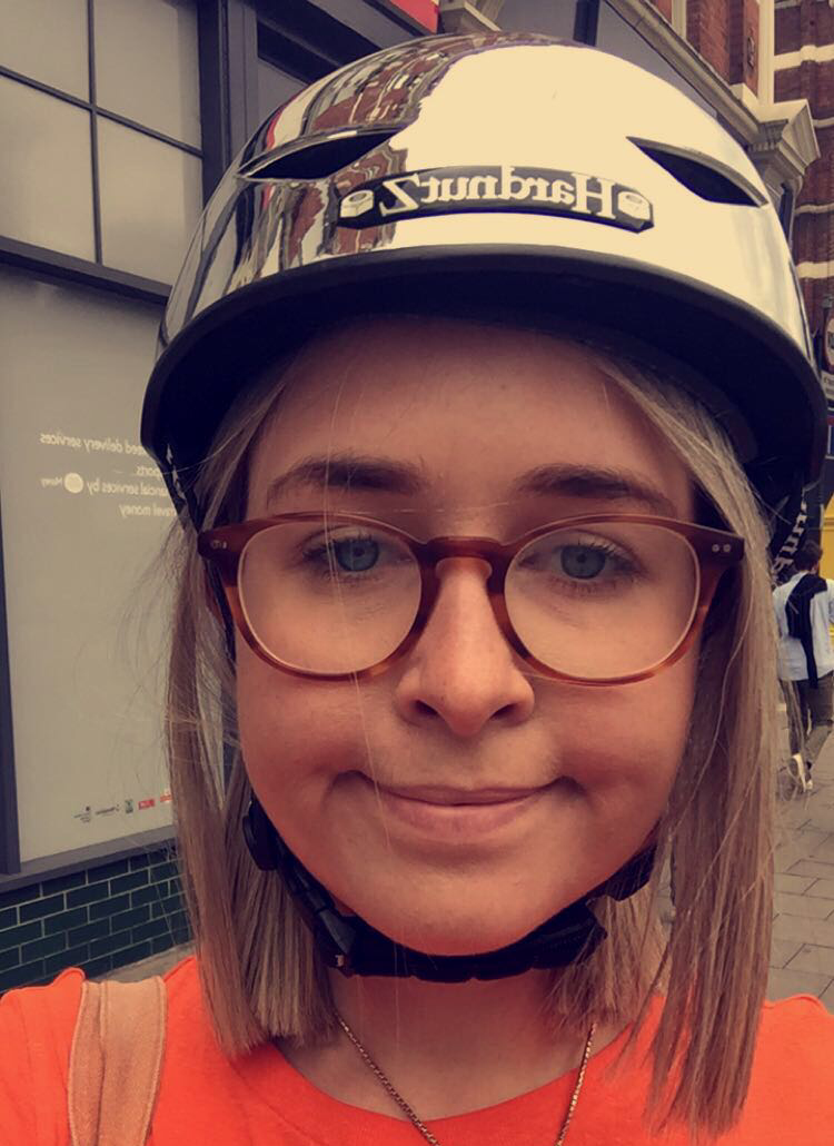 """If you get a helmet you like, you're 100% more likely to wear it and therefore not die. I have this one at £39.99 – people have shouted """"cool helmet"""" at me in the street before, and if that's not a good review I don't know what is. If you don't want to spend that much money, this one looks pretty swish and is only £6.95, and it seems to work, according to this review:""""I had bought it seven months ago. Was using it since then at least five days a week to and from work. Yesterday actually saved my life as I was hit by the car badly. Survived! Fell on my head, but that helmet protected me perfectly. I am glad I am still alive."""""""