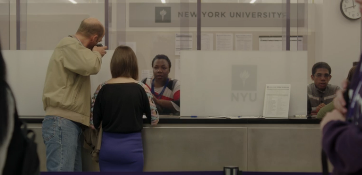 The NYU administrator who gave Shosh her degree