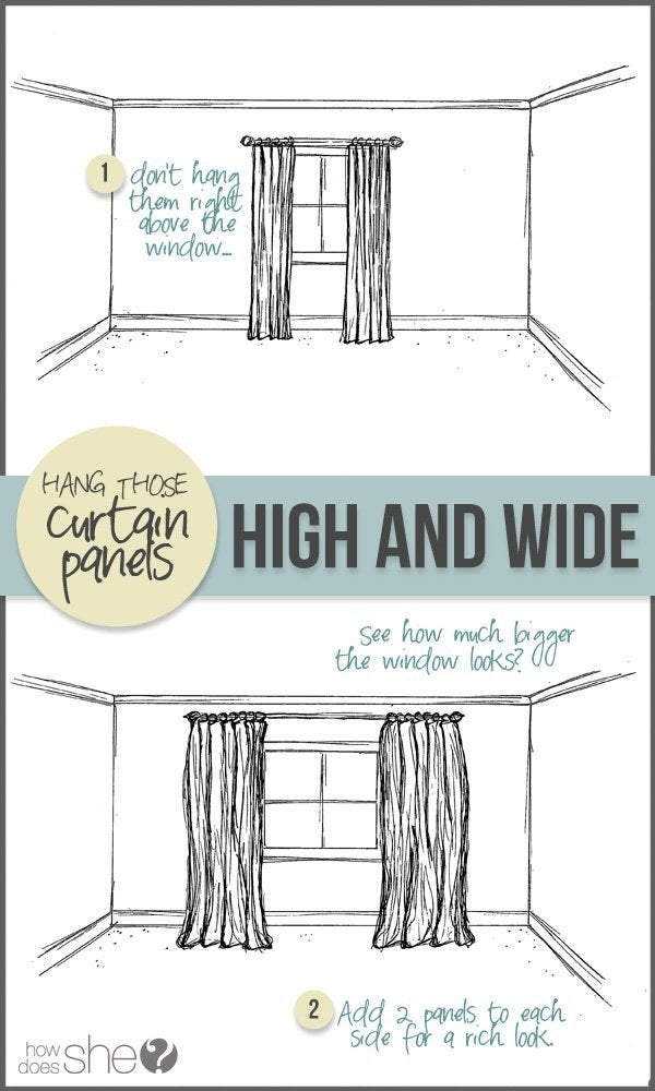 And double up your curtains for a super luxe look! Learn more here.