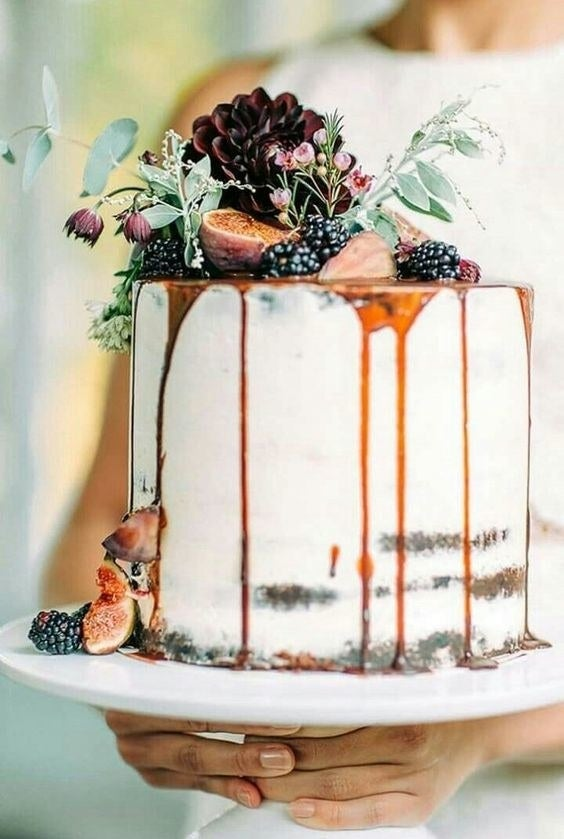 Unlike the rustic naked cake, ones with lustrous trails of caramel or icing are actually as delicious as they look. According to Pinterest, pins about drip cakes are up by 437% from 2016.