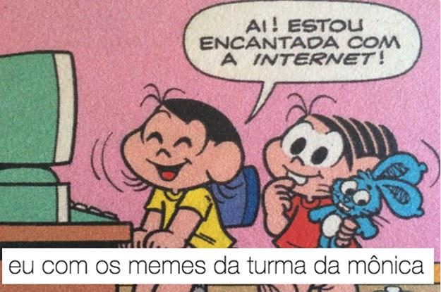 50 Memes Da Turma Da Mônica Para Você Rir Por Horas