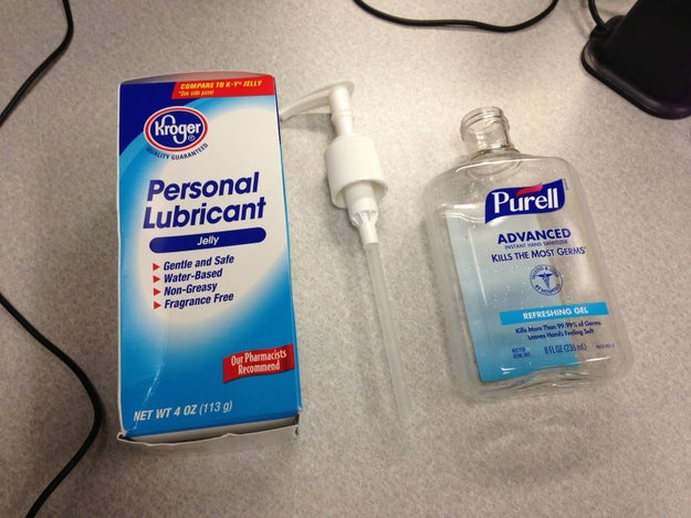 A gooey hand sanitizer swap: