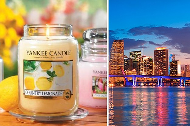 Pick Some Candles And We'll Tell You Where You Should Live