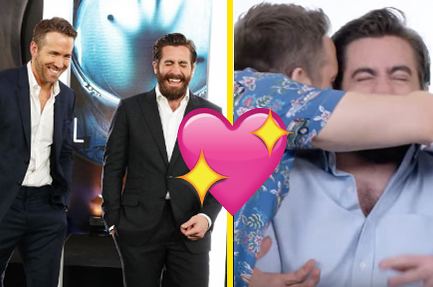 Ryan Reynolds And Jake Gyllenhaal Are Officially Your New Favorite Bromance