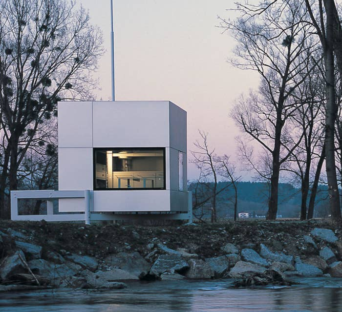 A 2.6-metre microhome, as designed by the British architect Richard Horden