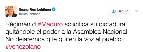 """""""Maduro solidifica su dictadura"""", afirman:"""